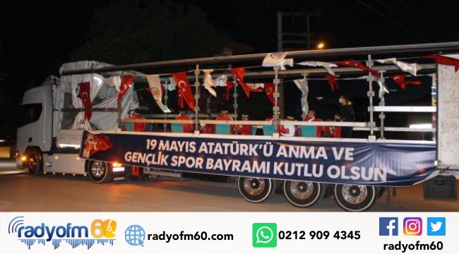 Erbaa Belediye bandosu konser verdi