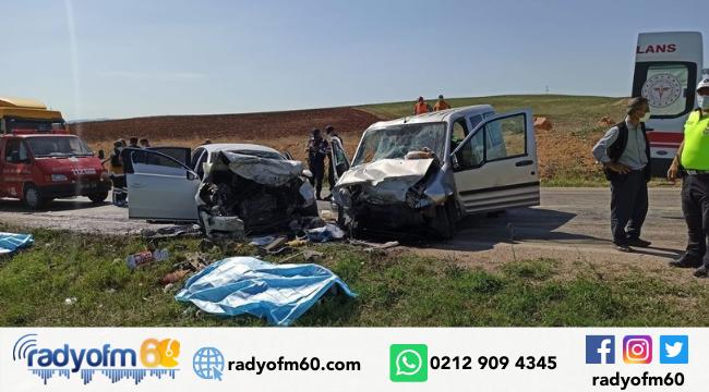 Son dakika haberler… Tokat'ta hafif ticari araç ile otomobil çarpıştı: 3 ölü, 8 yaralı